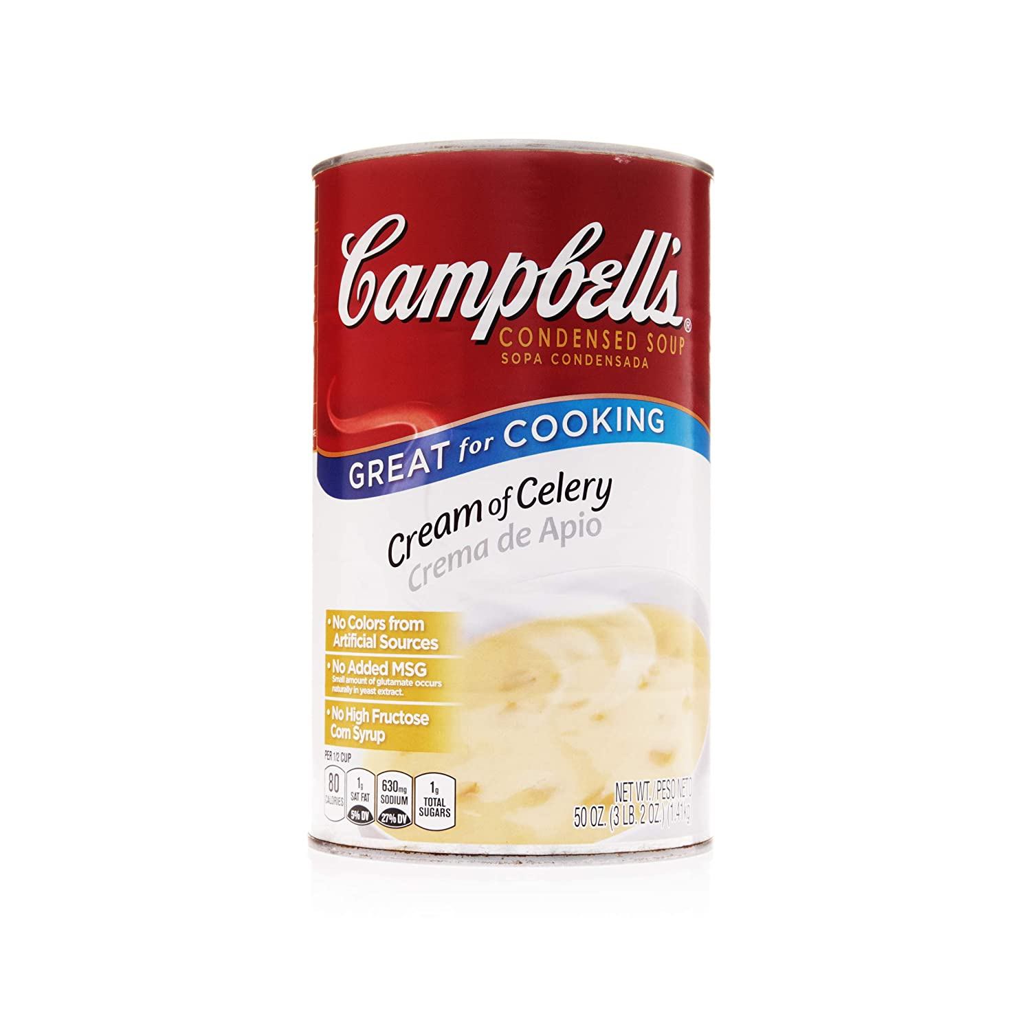 Campbell's Classic Condensed Cream of Pac Large-scale sale Ranking TOP11 Celery Soup 50 Ounce