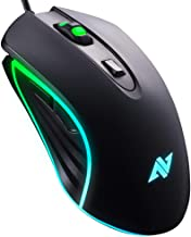ABKONCORE M30 Gaming Mouse Wired, USB Computer Mice for Game & Daily, 6 Programmable Buttons, Chroma RGB Backlit, 3500 DPI...