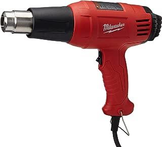 Milwaukee 8975-6 11.6 Amp 570/1000-Degree Fahrenheit Dual Temperature Heat Gun