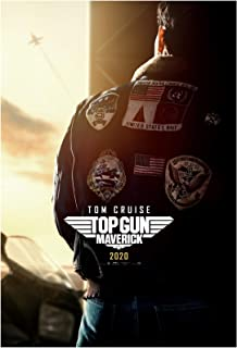 Top Gun Maverick Movie Poster 24 x 36 Inches Full Sized Print Unframed Ready for Display