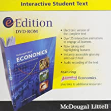 McDougal Littell Economics Concepts and Choices: Eedition CD-ROM Grades 9-12 2008