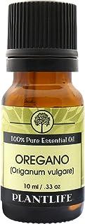 Plantlife Oregano Essential Oil (100% Pure and Natural, Therapeutic Grade) 10 ml