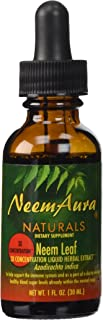 NeemAura Naturals Neem Leaf 3X Concentration, 1-Ounce (Pack of 2)