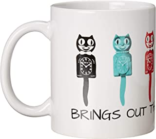Kit Cat Klock Vintage Original Colored Coffee Mug 11oz