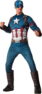 Rubie's Captain America Deluxe Muscle Chest Costume, Adult