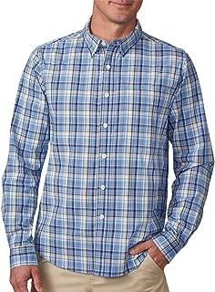 Ozark Button Down Casual Shirt with Hidden Pockets -Travel Shirt