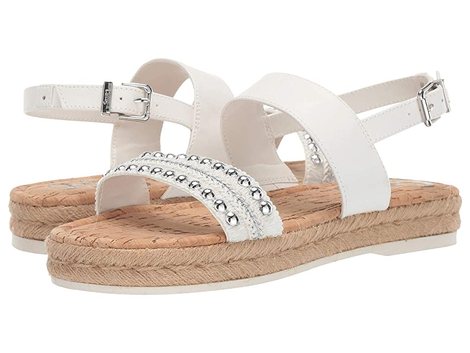 Circus by Sam Edelman Andrea (Bright White Metallic Woven Braind/Smooth Atanado/Jute) Women