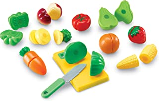 Learning Resources Slice Fruits and Veggies in Half