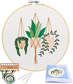 plant embroidery patterns