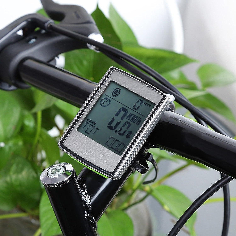 FidgetFidget Bike Waterproof Wireless Heart Rate Speed 3 in 1 Cycle Computer Speedometer New