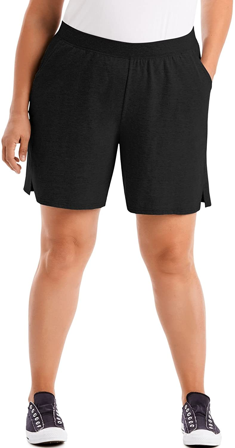 Just My Recommendation Size Women's Plus Cotton Shorts Pull-On Limited Special Price Jersey