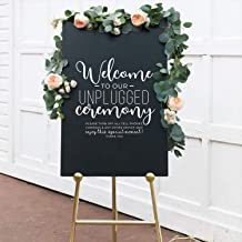 mirror welcome sign
