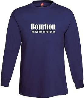 Men's Bourbon Its Whats for Dinner Long Sleeve T-Shirt