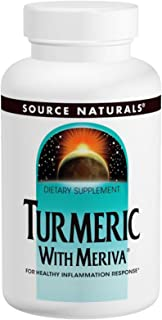 Source Naturals Turmeric with Meriva 500mg - 120 Capsules (3 Pack)
