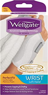 Wellgate for Women PerfectFit Wrist Support, Left Hand