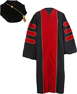 red phd gown