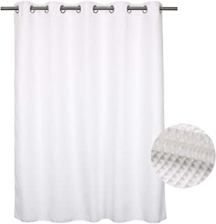 hookless spa shower curtain