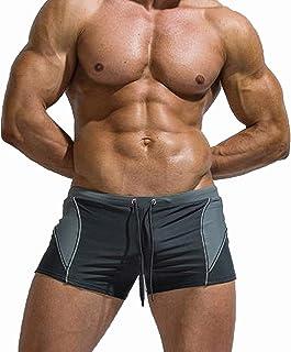 AceAcr Men's Swim Tights Quick Dry Brief Shorts Stylish Swimwear Boxer Swimming Briefs