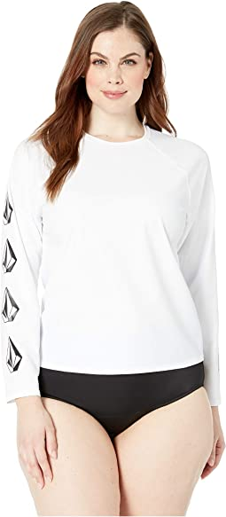 Plus Size Simply Solid Long Sleeve