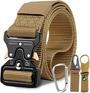 RONGQI Tactical Belt,Military Style Quick Release Belt,1.5
