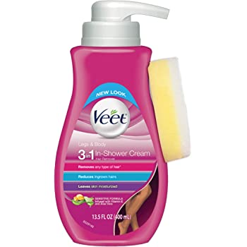 Amazon Com Veet Botanic Inspirations In Shower Cream 13 5 Fl Oz