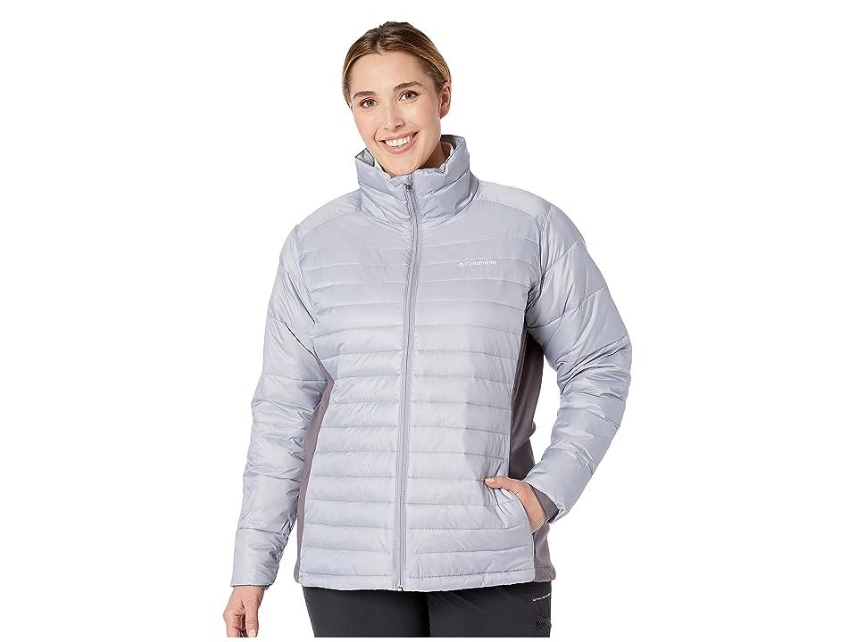 Columbia Plus Size Powder Pillow Hybrid Jacket (Astral/Pulse) Women