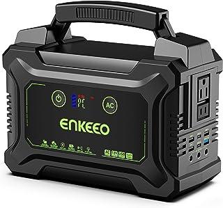 ENKEEO 222Wh estación de alimentación portátil con batería de iones de litio recargable, generador de energía con salida d...