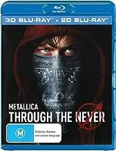Metallica Through The Never 3D Blu-ray   NON-USA Format   Region B Import - Australia