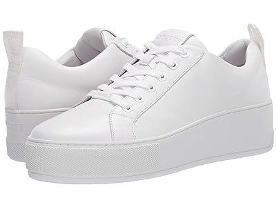J/Slides Margot (White Leather) Women