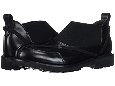 Grenson Craig Green Slip-On (Black Rub Off) Men
