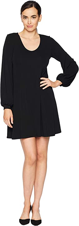Blouson Sleeve Dress