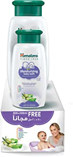 Himalaya Moisturizing Baby Bath | No Synthetic Colours & Parabens, Gentle and No-Tears Moisturizing Baby Bath That Gives Y...