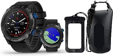 Garmin Descent Mk2i (Titanium Carbon Gray DLC/Black) Divers Bundle | with PlayBetter Dry Bag Set | Fitness Tracker, Sports App | Air Integration, Dive Modes | Dive Computer Smartwatch