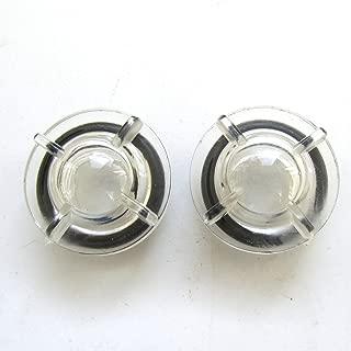 KUNPENG - #110-46604+RO-1952401-00 2 Set Oil Sight Window for JUKI LZ-2280 DDL-5550N-7 AMS-309