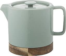 LEAF & BEAN Soren Teapot with Infuser, Multi, DLE0046GR