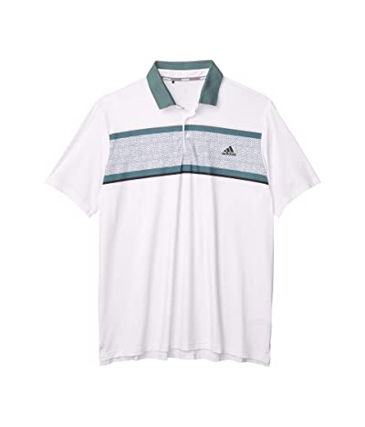 adidas Golf Ultimate365 Polo (White) Men