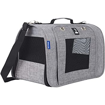 Petper Pet Carrier Designed for Cats, Small Dogs, Kittens, Puppies Pet Travel Carrying Handbag for Outdoor Travel Walking Hiking