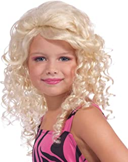 Girls Pop Star Wig - Child Std.