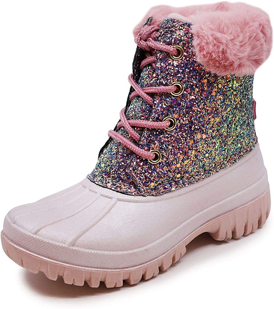 Ranking TOP14 LONDON FOG Girls Stockport Cold Boot Lined Warm Snow Clearance SALE Limited time Weather