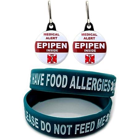 Allergy Alert Tag Hypoallergenic Tag Nut Allergy Tag Nut Allergy ID Tag Allergy  ID Tag Medical Alert Waterproof Medic Tag