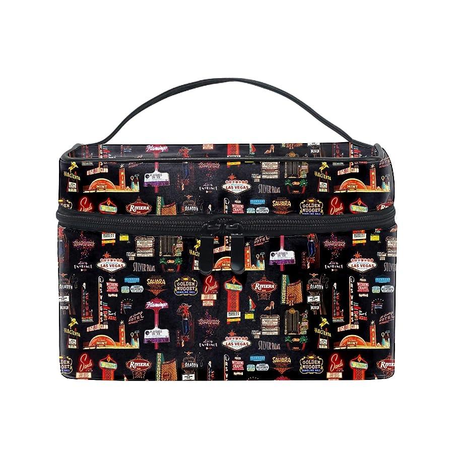 便携式ラスベガス メイクボックス 收納抜群 大容量 可愛い 化粧バッグ 旅行