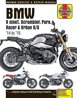 Haynes Repair Manual for BMW RnineT, Scrambler, Pure, Racer & Urban G/S, (2014-2018)