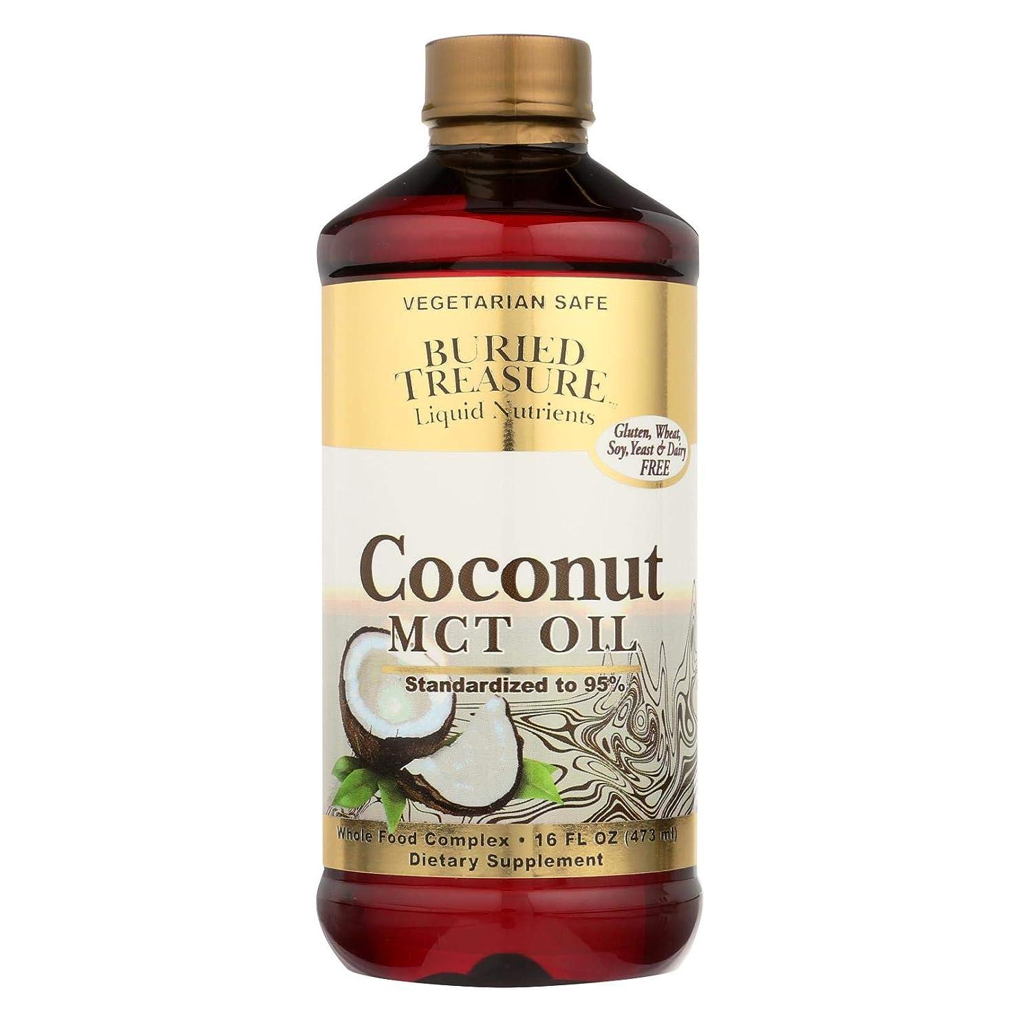 構造苦難急性海外直送品Coconut Oil MCT, 16 oz by Buried Treasure