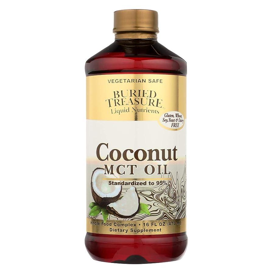 曖昧な平均マリン海外直送品Coconut Oil MCT, 16 oz by Buried Treasure