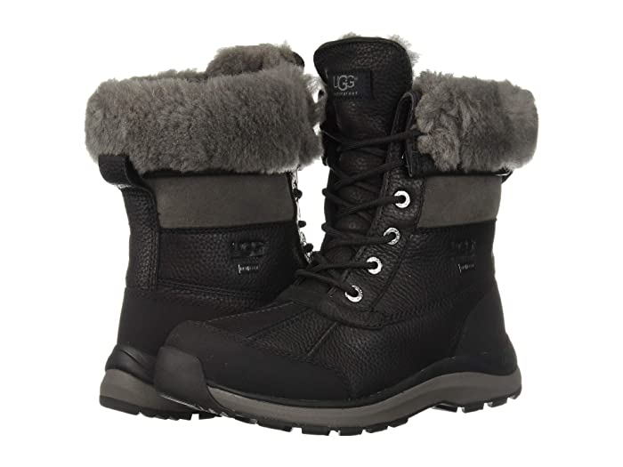 UGG  Adirondack Boot III (Black) Womens Cold Weather Boots