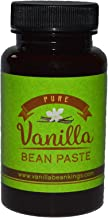 Pure Vanilla Bean Paste for Baking and Cooking - Gourmet Madagascar Bourbon Blend made with Real Vanilla Seeds - 4 Ounces