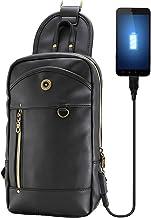 Eredità(エレディータ) USBポート搭載 ボディバッグ ワンショルダー 斜めがけ メンズ BB13