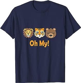 Lion Tiger and Bear Oh My Fun Jungle Animal