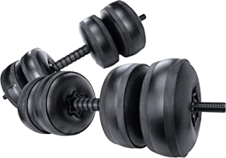 Travel Weights Water Filled Dumbbells Set for Man & Women, Adjustable Free Water Dumbbells Up to 22~45Lbs for Exercise Fit...