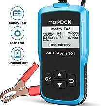 TT TOPDON Car Battery Tester AB101 12V Car Battery Load Tester on Cranking Charging..